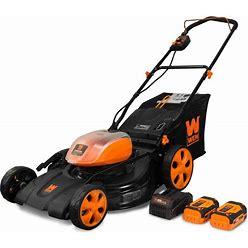 WEN 40-Volt Max 21-In Push Cordless Electric Lawn Mower 4 Ah   40441