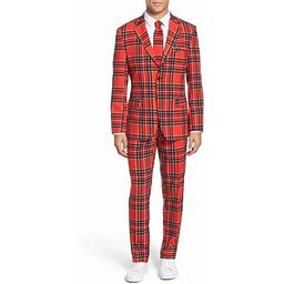 Halloween Suitmeister The Lumberjack Men's Costume Suit Large, Size: 44, Red