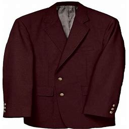 Edwards Men's Classic Two Button Single Breasted Blazer, Style 3500, Size: 46 Small, Purple