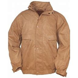 Outback Trading Company Outback Trading Jacket Mens Tough Rambler Microsuede Waterproof 2319, Men's, Size: Small, Beige