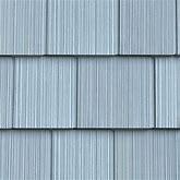 "7""W X 60 3/4""L Exposure, Vinyl Perfection Shingles (34 Panels/Ctn. = 100 Sq. Feet), 253 - Blueberry"