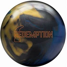 Hammer Redemption Pearl Bowling Ball - Black/Blue/Gold (12lbs)