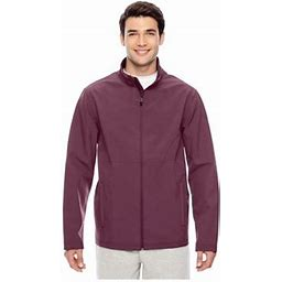 Team 365 Men's Leader Soft Shell Jacket, Style Tt80, Size: Medium, SPORT DARK MROON