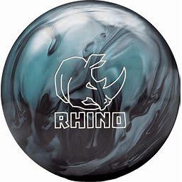 Brunswick Rhino Metallic Blue Black Bowling Ball (Ball Weight: 16LB) | Bowlersmart