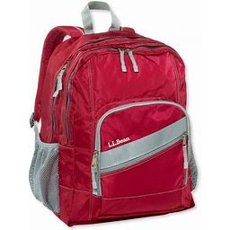 L.L.Bean Deluxe Kids' School Backpack Red | L.L.Bean
