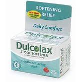 Dulcolax Stool Softener Liqui Gels - 25 Ea, 2 Pack