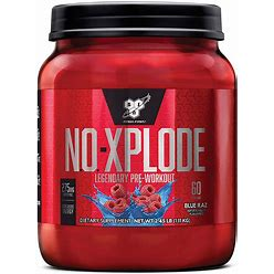 BSN® N.O.-XPLODE® Pre-Workout Igniter - Blue Raz 60 Servings