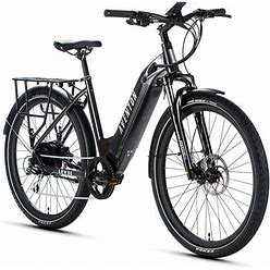 Level Step-Through Commuter Ebike S/M / Earth Grey