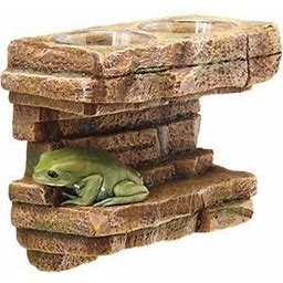 Zilla Vertical Decor Rock Feeding Ledge
