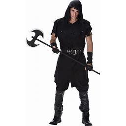Men's Executioner Costume | Adult | Mens | Black | L | Karnival Costumes