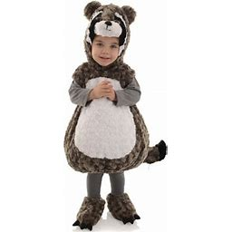 Raccoon Toddler Costume, Size: XL, Gray