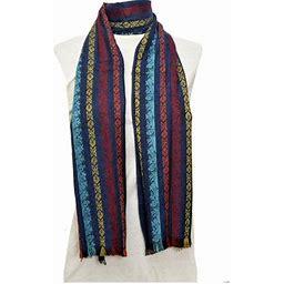 Amtal Women Multi Color Stripes Design Pashmina Shawl Oblong Casual Soft Scarf, Women's, Size: One Size