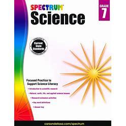 Spectrum Science Grade 7 (2014 Update