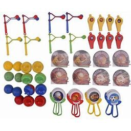 48 Piece Sport Party Favors Pack, Assorted