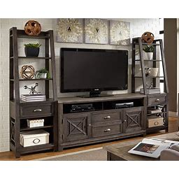 Heatherbrook Entertainment Wall By Liberty Furniture
