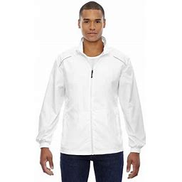 Ash City North End Men's Motivate Unlined Lightweight Jacket, Style 88183, Size: Large, White