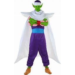 Dragon Ball Z Piccolo Costume | Men's Cosplay Costume | Adult | Mens | Green/Purple/White | S | FUN Costumes