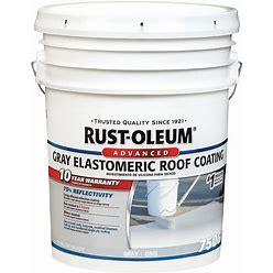 Rust-Oleum Elastomeric Roof Coating,4.75 Gal Model: 345498