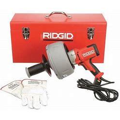 Ridgid 36013 Drain Cleaning Gun,3/4-2-1/2 In