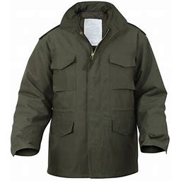 Rothco Ultra Force M-65 Field Jacket - Olive Drab - 5XL, Adult Unisex, Green