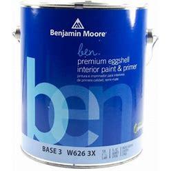 Benjamin Moore W626 Eggshell Interior Paint & Primer Golden Bounty (2