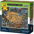Dowdle - National Park - 500 Piece Jigsaw Puzzle, Size: 19.25, Multicolor
