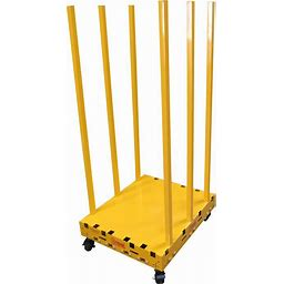 Saw Trax Rack And Roll Safety Dolly Cart - 700-Lb./1000-Lb. Capacity, Model BSD