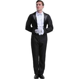 Butler Costume For Men | Adult | Mens | Black/White | S | FUN Costumes