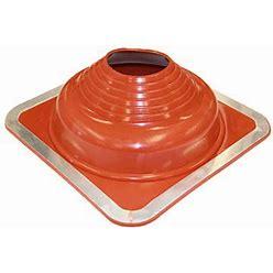 Dektite Dfe205re 5 Premium Square Base Red Silicone Metal Roof Pipe Flashing , From Deks