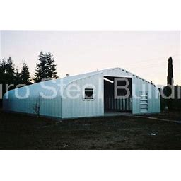 Durospan Steel 30X57x14 Metal Garage Kit Building Shed Workshop