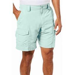 Reel Legends Mens Sandbar Cargo Shorts, Men's, Size: 30W, Green
