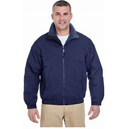 Ultraclub Men's Adventure All-Weather Jacket, Style 8921, Size: Small, Blue
