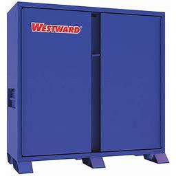 61 In X 60 In X 28 In Jobsite Storage Cabinet, Westward 499N09