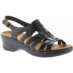 Women's Clarks Lexi Marigold Sandal, Size: 8.5, Black