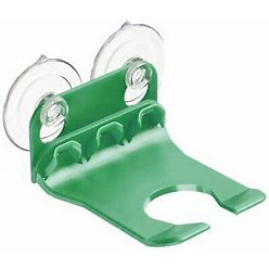 Wave Hooks - Bathtub Wine Glass Holder - Green