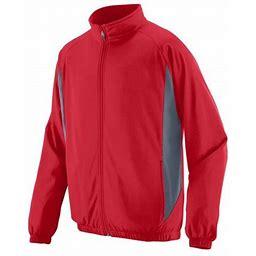 Augusta Sportswear Medalist Jacket 4390, Boy's, Size: 2XL, Red