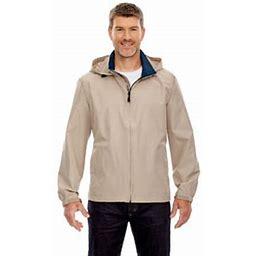 Ash City North End Ash City - North End Men's Techno Lite Jacket, Size: Small, Beige