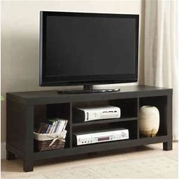 Mainstays TV Stand For Tvs Up To 42 Inch, Multiple Colors Size: 42 Inch, Black