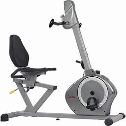 Magnetic Recumbent Bike Exercise Bike, 350Lb High Weight Capacity, Arm Exercisers, Monitor, Pulse Rate Monitoring - Sf-Rb4631