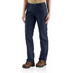 Carhartt Rugged Professional™ Series Rugged Flex® Loose Fit Canvas Work Pant | Navy | 6 Short