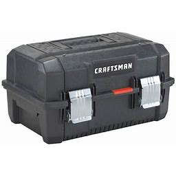 "Craftsman 18"" Structural Foam Tool Box With Cantilever"