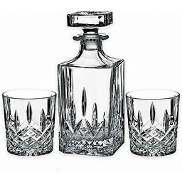 Marquis By Waterford Markham 3-Piece Decanter Set Clear - Marquis By Waterford - Fine Drink Specialty Sets - Set Of 3 - Clear