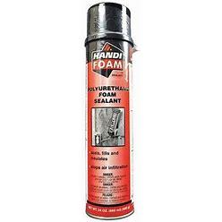 Handi-Foam P30107G Spray Foam Sealant,24 Oz,Cream,Pk12
