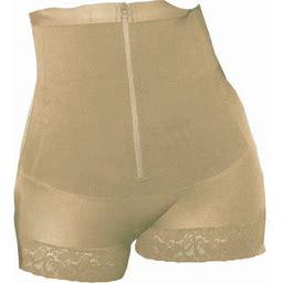 Shap Eager Shapeager Body Shaper Faja Plus Shaper Thermal High Panty Slimming Shapewear Bodysuit, Women's, Size: 2XL, Beige