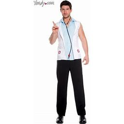Men's E.r. Doctor Costume, Size: Large, As Shown