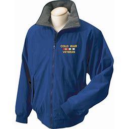 MilitaryBest Cold War Veteran 3-Season Jacket Royal Blue 2XL, Men's