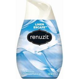 4 Pack - Renuzit, Linen Escape Gel Air Freshener 7 Oz