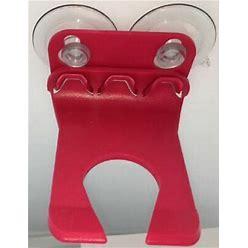 Wave Hooks - Bathtub Wine Glass Holder - Hot Pink