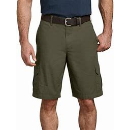 Dickies Mens 11 Inch Relaxed Fit Lightweight Ripstop Cargo Shorts