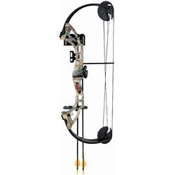 Bear Archery Warrior Youth Compound Bow W/ Biscuit Arrow Rest / Right Handed Camo AYS400CR